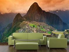 Papier peint vinyle Machu Picchu
