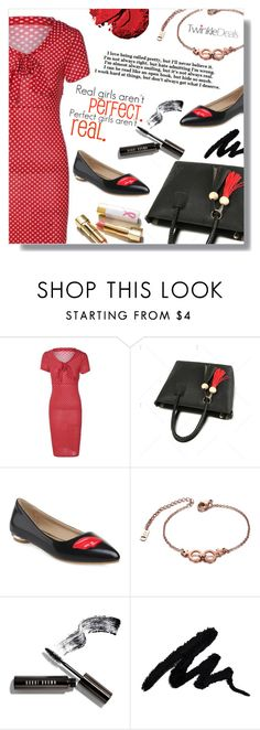 """""""Perfect girl"""" by fashion-pol ❤ liked on Polyvore featuring Bobbi Brown Cosmetics, Inglot and vintage"""