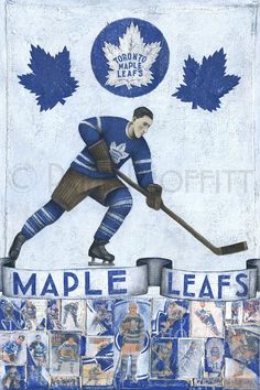 """""""Great to see the Toronto Maple Leafs back in the playoffs! Hockey Games, Ice Hockey, History Of Hockey, Maple Leafs Hockey, Hockey Logos, Hockey World, Wayne Gretzky, Ticket Stubs, Toronto Maple Leafs"""