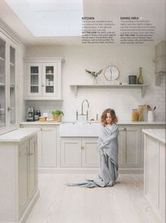 Living etc. magazine have done a beautiful photoshoot at the home where our Clapham Classic English Kitchen was fitted, we love the finished images!