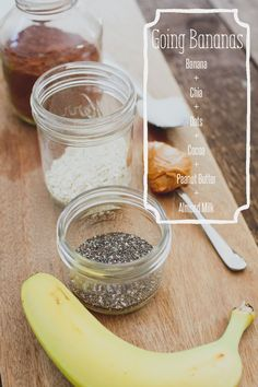 Going bananas breakfast smoothie // banana, peanut butter, chia seeds, cocoa, and oats // SO good! #vitamix free shipping with code 06-006499 on ANY blender purchase https://secure.vitamix.com/redirect.aspx?COUPON=06-006499