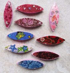 More Shuttles     This is the last batch.    See yesterdays post on how to make them!!