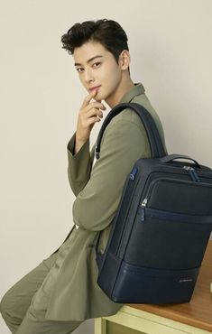 Happy Chinese New Year! Cha Eun Woo Astro, Happy Chinese New Year, Sling Backpack, Boyfriend, Handsome, Korean, Kpop, Mens Fashion, Bags