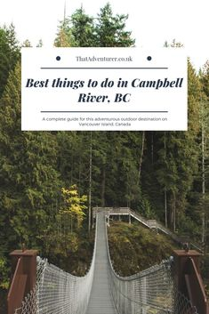 The best things to do in Campbell River, Vancouver Island, BC Victoria Vancouver Island, Vancouver Travel, Salt Spring Island Bc, Canadian Travel, Canadian Rockies, Discovery Island, Alaska Travel, Alaska Cruise, San Juan