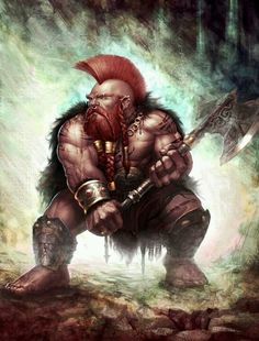 Dwarf: This is what I pretend I am when I'm working out. It helps.