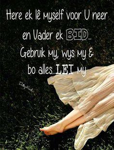 Gebed van 'n  Vrou tot oorgawe #Afrikaans #Prayer