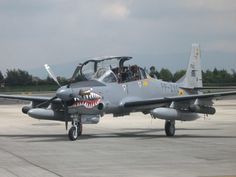 Super Tucano on Ramp