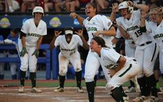Watch #Baylor Softball complete the largest comeback in Women's College World Series history (click for video) #SicEm
