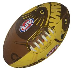 Hawthorn Hawks Footy Ball by Burley