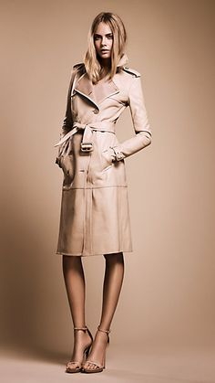 Burberry Trench a classic number for when the nights get chilly. Plus the length accentuates her legs. How could you not love?!? -XOXO N