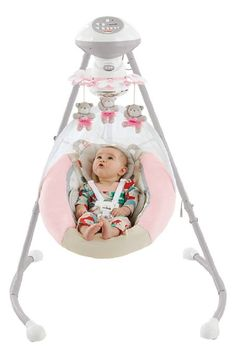 AmazonSmile : Fisher Price My Little Snugapuppy Cradle and Swing : Stationary Baby Swings : Baby