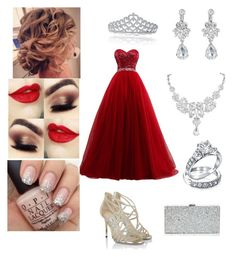 """""""Prom"""" by bruhitsbriannas on Polyvore featuring Bling Jewelry, Jimmy Choo and Milly"""