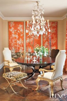 dining decor silver