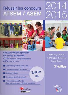 Ebooks Gratuits En Ligne: Réussir le concours ATSEM/ASEM 2014-2015 : Concours d'agent spécialisé des écoles maternelles