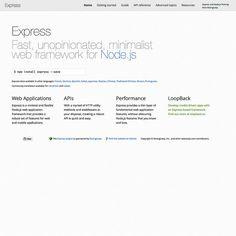 Express framework | by sistrall