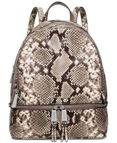MICHAEL Michael Kors Rhea Zip Medium Backpack   macys.com