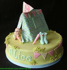 Alice's Tent - by RosieCakeDiva @ CakesDecor.com - cake decorating website