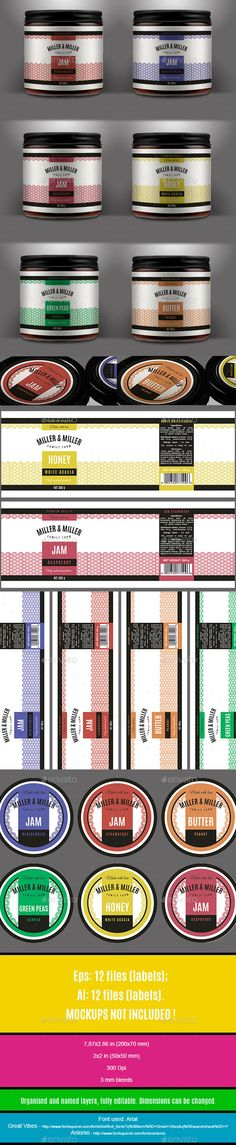 Universal Labels Template PSD, Vector EPS, AI. Download here: http://graphicriver.net/item/universal-labels/11929628?ref=ksioks