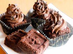Brownies med After Eight-krem   Det søte liv