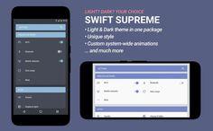 Swift Supreme CM12 CM13 b2 Theme v1.0.0 (17/4/2016)