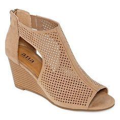 d083a1fb168e a.n.a Womens Silvi Wedge Sandals - JCPenney