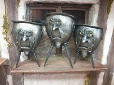 Horror, Sculpey Clay, Clay Miniatures, Creepy Cute, Samhain, Cute Dolls, Clay Art, Halloween Fun, Folk Art