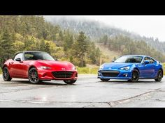 2016 Mazda MX-5 Miata Club vs. 2015 Subaru BRZ - Head 2 Head Ep. 68 - YouTube