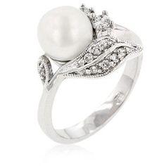 classy pearl engagement rings beautiful engagement rings and diamond engagement rings - Pearl Wedding Ring