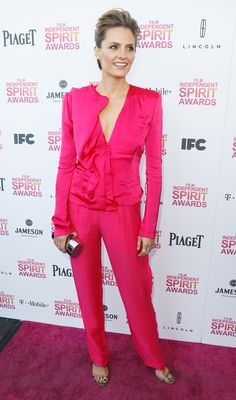 Stana Katic attends the 2013 Spirit Awards