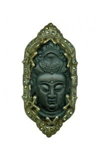 Sweet Romance Buddha Ring r327 black/brass buddha ring