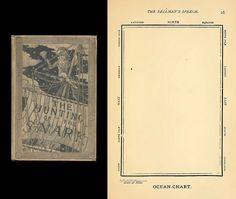 """Mapa del Océano. En 1876 Lewis Carroll, con ilustraciones de Henry Holiday, publica La Caza del Snark (animal entre serpiente """"snake"""" y tiburón """"shark""""). El capitán del barco, un viejo sabio, ha adquirido un perfecto mapa del océano, con el que podrán surcarlo sin problemas. Sin líneas, rosas de los vientos ni otros símbolos extraños, el recuadro en blanco reproduce con exactitud la enormidad del mar. Al verlo la tripulación grita """"¡ese mapa sí lo entendemos!"""" Carroll y sus """"nonsense""""."""