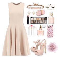 """casual dress"" by rputriwidyastri ❤ liked on Polyvore featuring Michael Kors, KG Kurt Geiger, Hoorsenbuhs, Paige Novick, jane, Essie, NYX, Accessorize, Guerlain and Kate Spade"