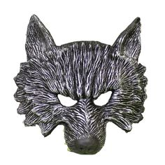 This high quality silver wolf mask in will surely cause quite a scare at your next Halloween or fancy dress party. Scary Halloween Masks, Scary Mask, Halloween Cosplay, Cosplay Costumes, Wolf Mask, Head Mask, Animal Masks, Latex, Lion Sculpture