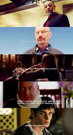 Breaking Bad love. Oh, Flynn.