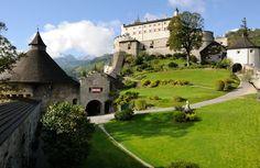Medieval Hohenwerfen Castle interior | Die Burg Hohenwerfen erstrahlt in ihrer ganzen Pracht