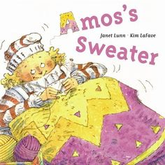 Winner of the Governor General's Award, the Amelia Frances Howard-Gibbon Illustrator's Award and the Ruth Schwartz Award Amos the sheep is old and cold and tired of giving up all his wool. But despite his noisy objections, Aunt Hattie shears Amos once again and knits his wool into a brightly colored sweater for Uncle Henry. Poor Amos decides that this time he has had enough - and he sets out to reclaim what is rightfully his.