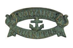 Captains Quarters Wall Decor