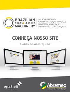 Gampi cria anúncio para o novo site da Brazilian Machinery. #ad