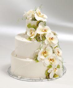 Hochzeitstorten bei Groissböck, Torte J - Orchidee, 66 Tortenstücke, 382€