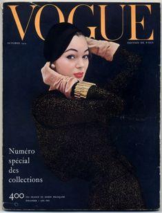 Vogue Paris France 1954 October Octobre Special Collections