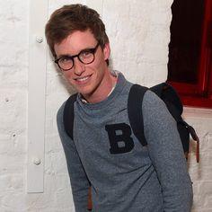 Confirmed: Eddie Redmayne Looks Even More Handsome in Glasses