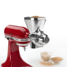 Product Image for KitchenAid® All Metal Grain Mill Attachment 3 out of