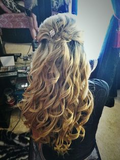 Prom hair that I did!!  :)