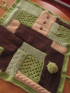 Ravelry: Come Together Baby Blanket pattern by Amy Gillespie