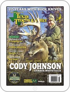The Journal of the Texas Trophy Hunters Magazine (Digital) March 1st, 2018 Issue Cover