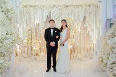 Архитектурная белая свадьба