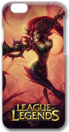 Custom iPhone 6 3D Case, Zyra, Rise of the Thorns in league of legends DIY iPhone 6 case cover