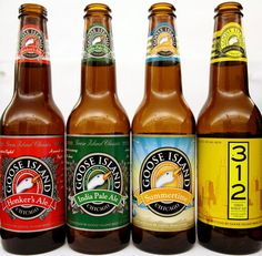 Goose Island beer | 19 Brands You Didn't Know Were Owned By Giant Corporations