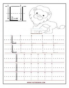 printable letter l tracing worksheets for preschoolfree writing practice worksheets for 1st graders - Printing Pages For Kindergarten