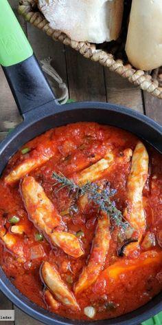 Pollo all' arrabbiata Italian Recipes, Mexican Food Recipes, Real Food Recipes, Chicken Recipes, Cooking Recipes, Healthy Recipes, Chicken Meals, Pollo Recipe, Best Meal Delivery